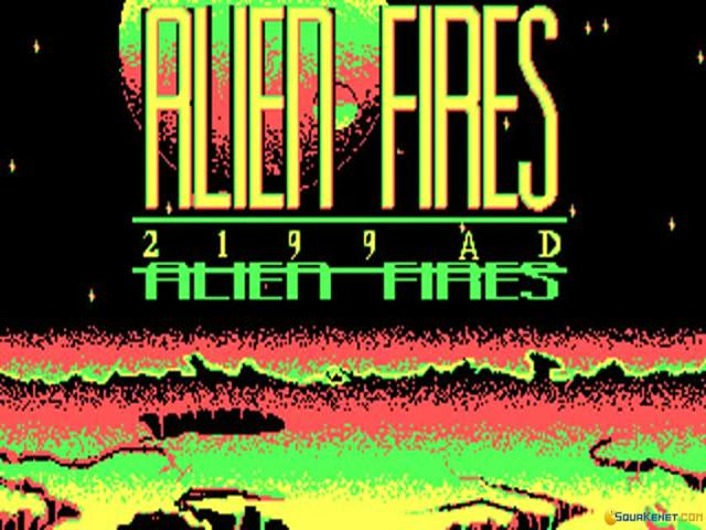 Alien Fires 2199 A.D. - game cover