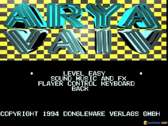 Arya Vaiv - title cover