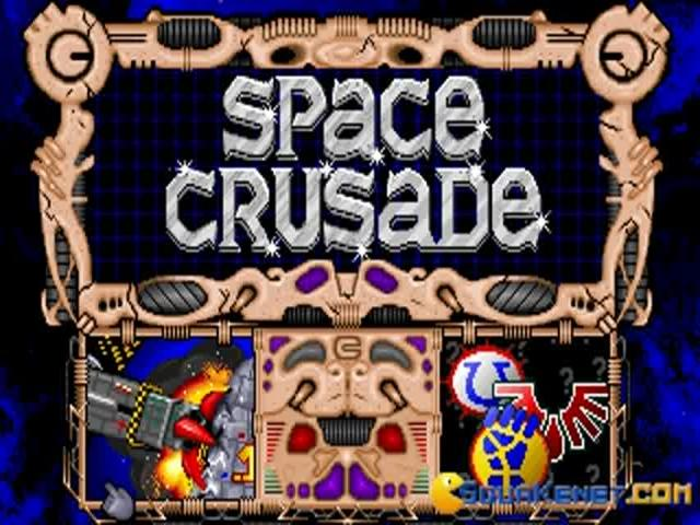 Space Crusade - title cover