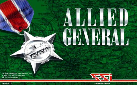 Allied General - title cover