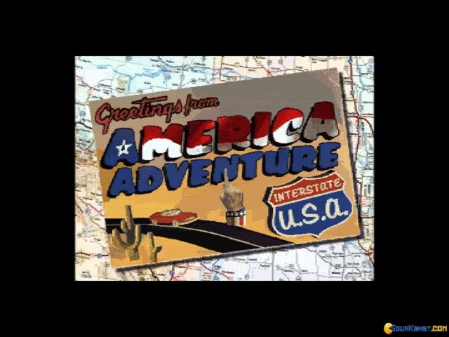 America Adventure - game cover