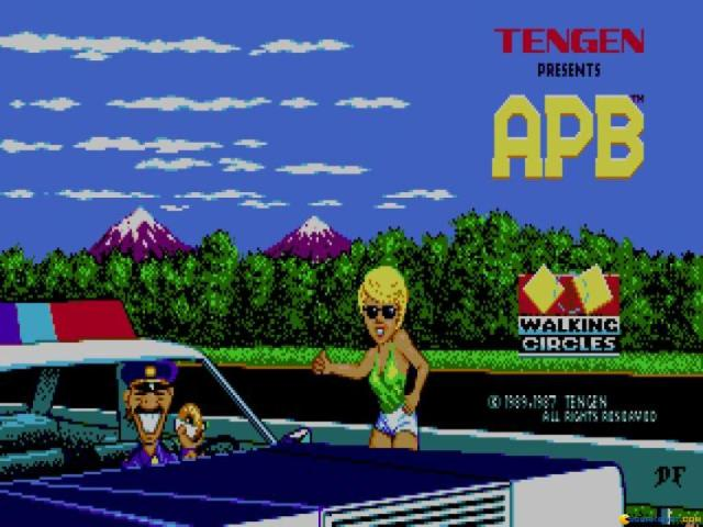 APB - game cover