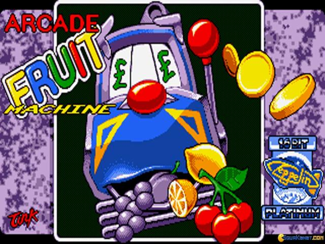 Arcade Fruit Machine - title cover