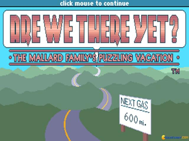 Are We There Yet? - title cover