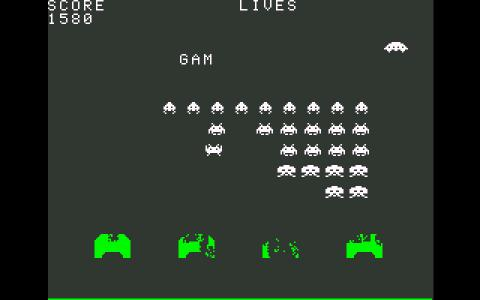 Space Invaders - game cover