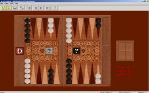 Backgammon Professional - game cover