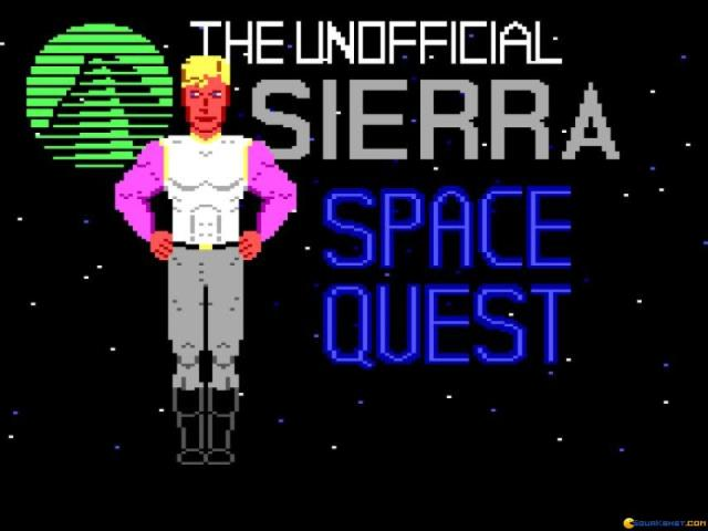 Space Quest - the Lost Chapter - title cover