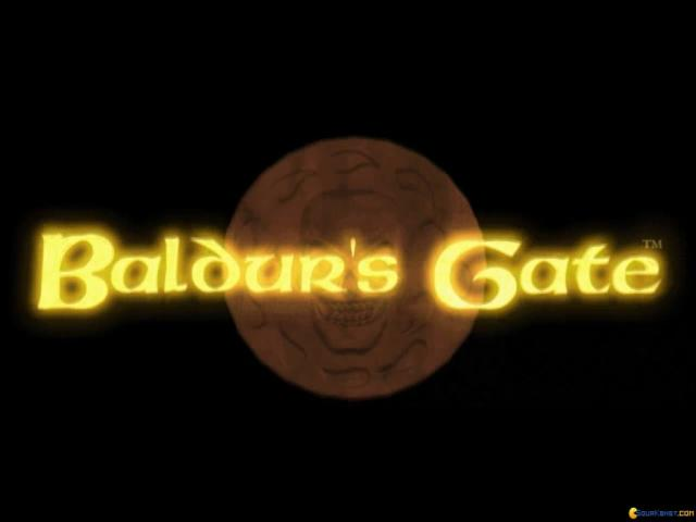Baldur's Gate - game cover
