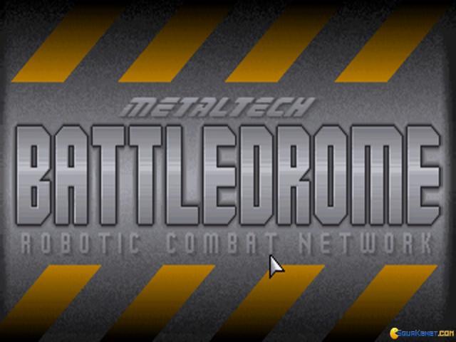 Battledrome - title cover