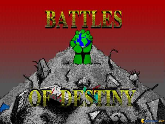 Battles of Destiny - title cover