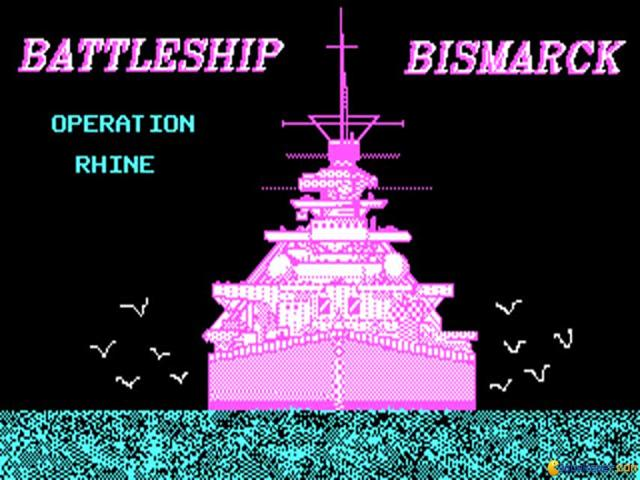 Battleship Bismarck - title cover