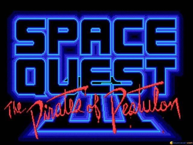 Space Quest 3 - the Pirates of Pestulon - title cover