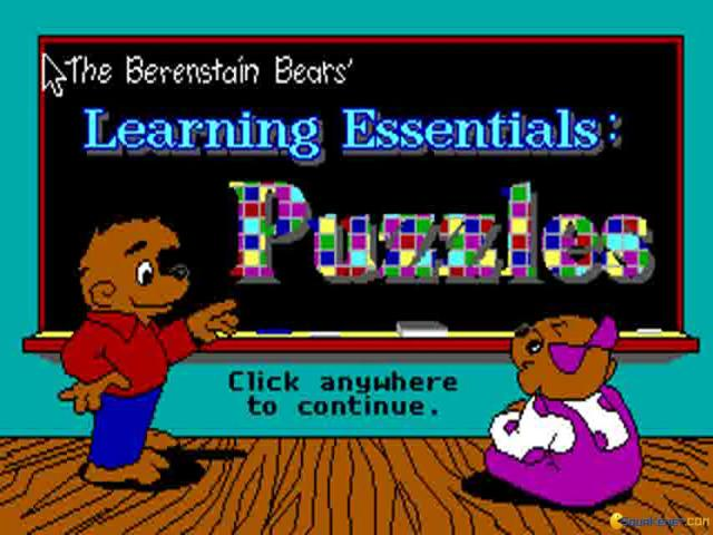 Berenstain Bears' Learning Essentials - title cover