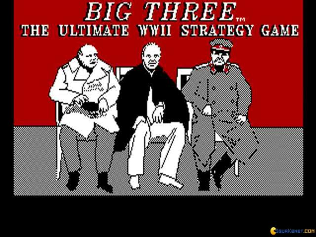 Big Three, The - game cover