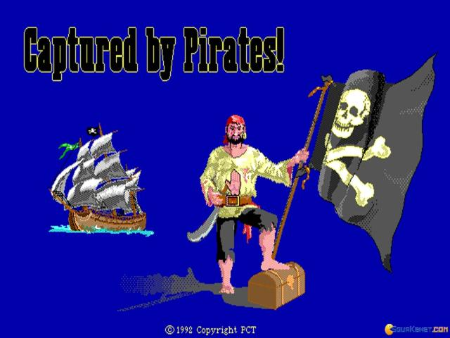 Captured by Pirates! - title cover