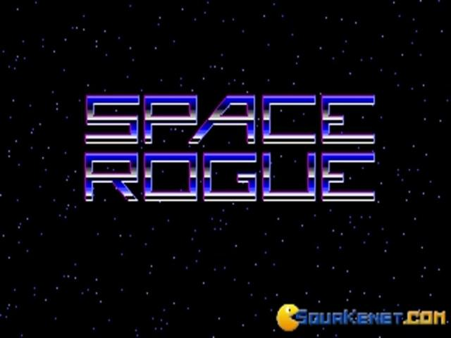 Space Rogue - title cover