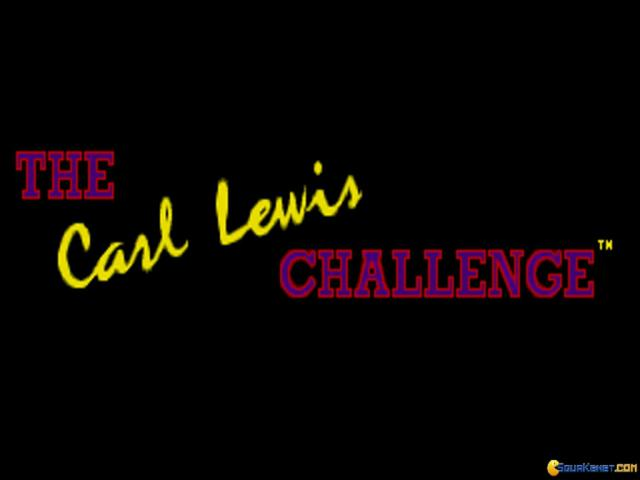 Carl Lewis Challenge, The - game cover
