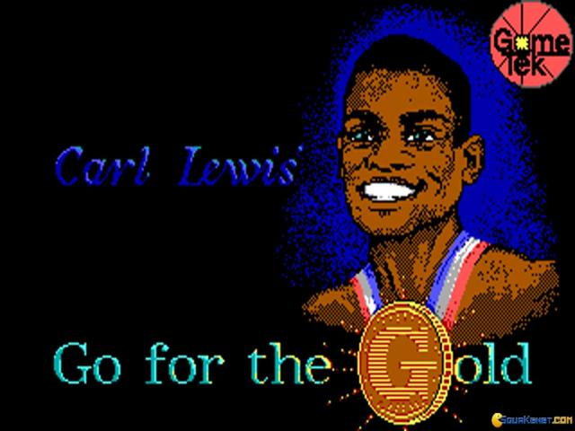 Carl Lewis' Go for The Gold - title cover
