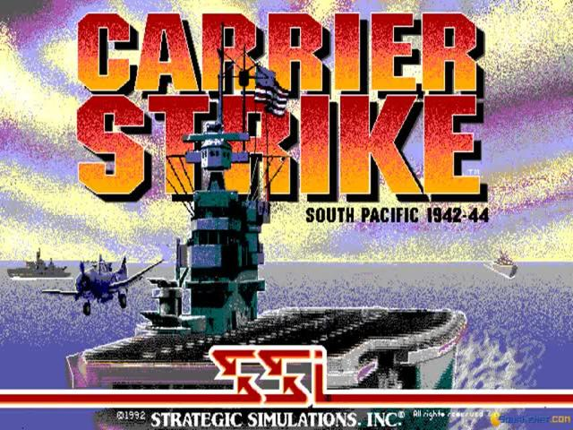 Carrier Strike: South Pacific - game cover