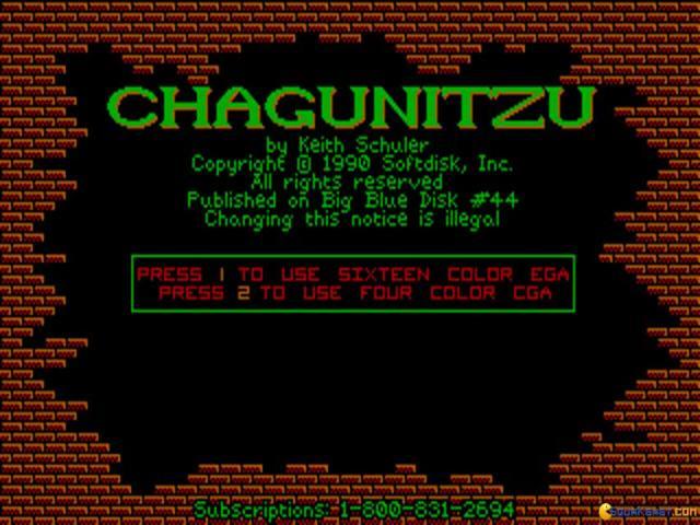 Chagunitzu - game cover