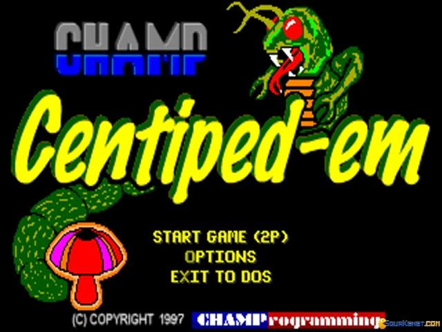 CHAMP Centiped-em - title cover