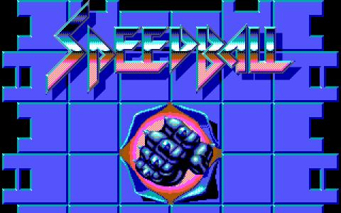 Speedball - title cover