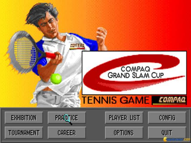Compaq Grand Slam Cup - title cover