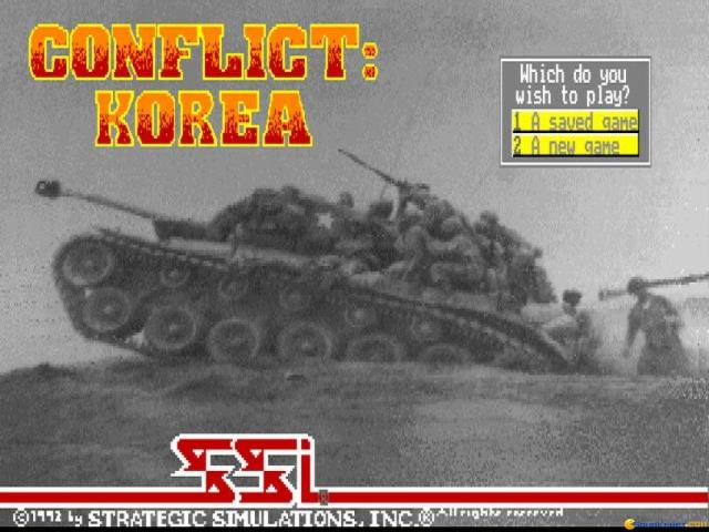 Conflict: Korea - title cover