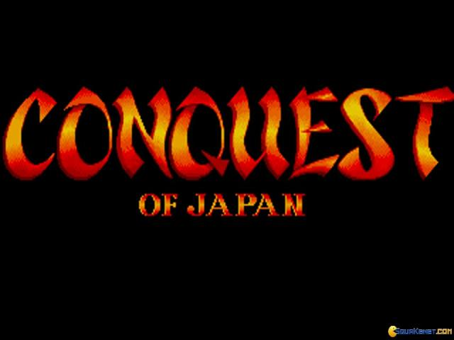 Conquest of Japan - title cover