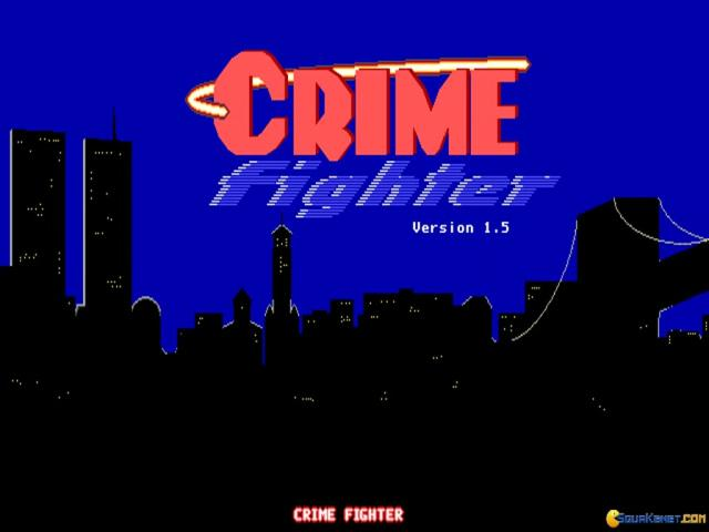 Crime Fighter - title cover