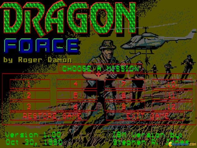 D.R.A.G.O.N. Force - game cover