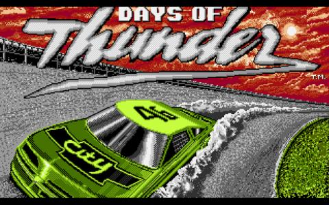 Days of Thunder - game cover