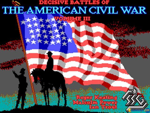 Decisive Battles of American Civil War Vol. 3 - game cover