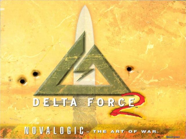 Delta Force 2 - title cover