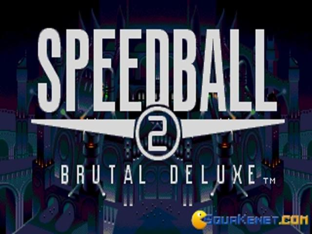 Speedball 2 - Brutal Deluxe - game cover