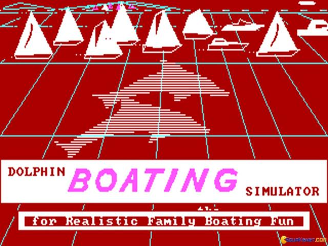 Dolphin Boating Simulator - title cover