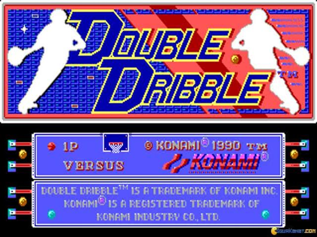 Double Dribble - game cover