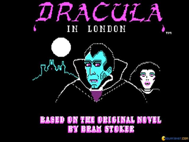 Dracula in London - game cover