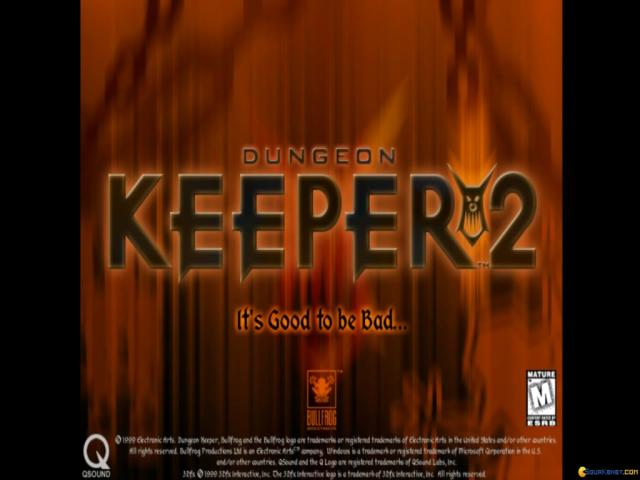 Dungeon Keeper 2 - title cover