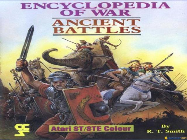 Encyclopedia of War: Ancient Battles - title cover