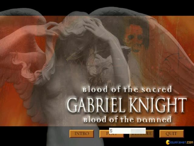 Gabriel Knight 3 - title cover