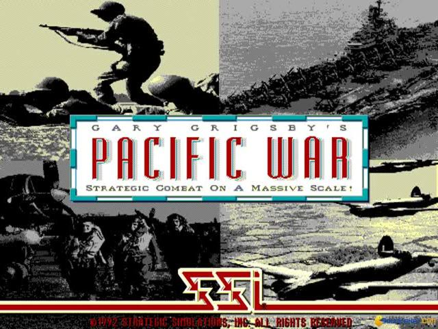 Gary Grigsby's Pacific War - title cover
