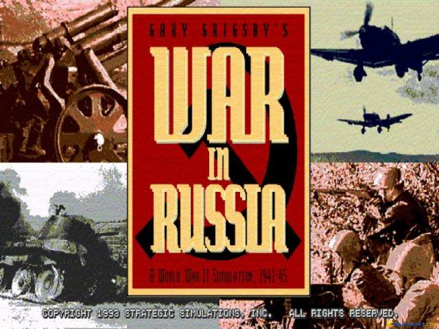 Gary Grigsby's War in Russia - title cover
