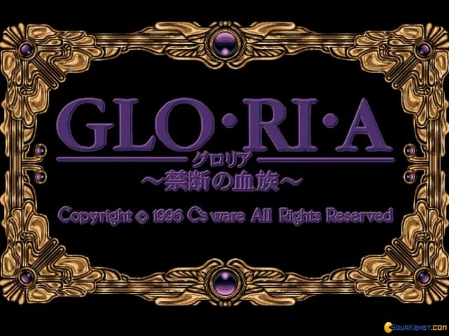 Gloria - title cover