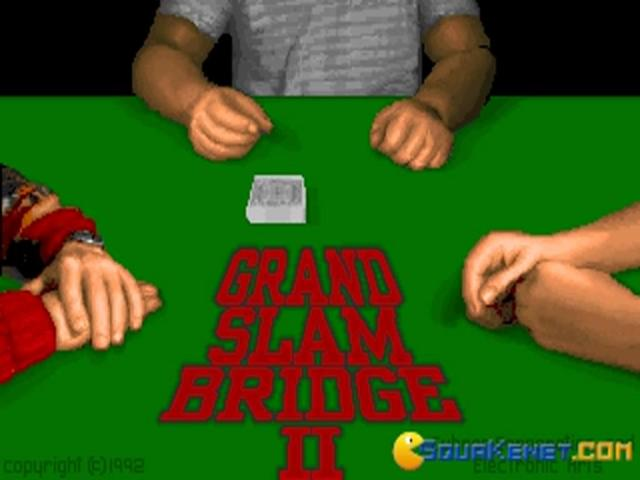 Grand Slam Bridge II - title cover