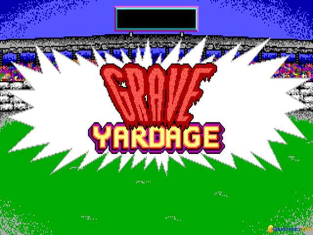 Grave Yardage - title cover