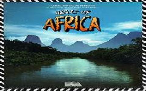 Heart of Africa - title cover