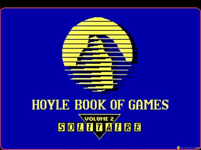 Hoyle Official Book of Games Volume 2: Solitaire - title cover