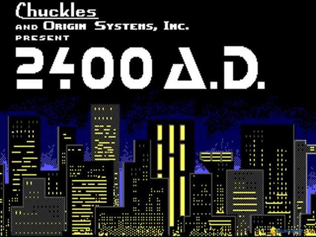2400 A.D. - title cover