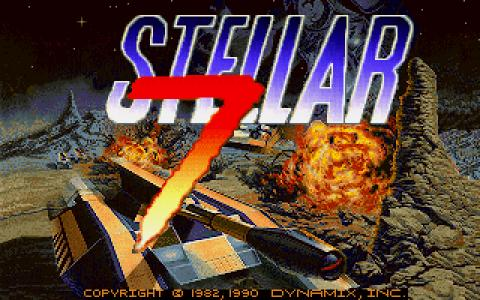 Stellar 7 - game cover